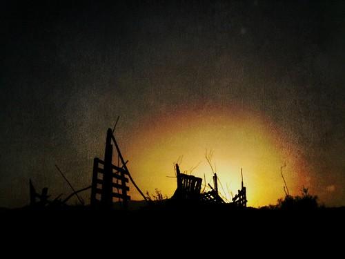 Grunge Sunset