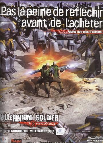 Millenium Soldier Expendable - via dreamagain