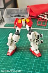 MG 1-100 Gundam HeavyArms EW Unboxing OOTB Review (48)