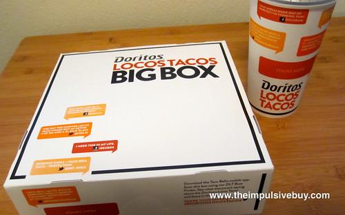 Taco Bell Doritos Locos Taco Box