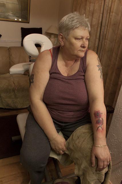 Tattoo Photo Essay - Break Between Colouring