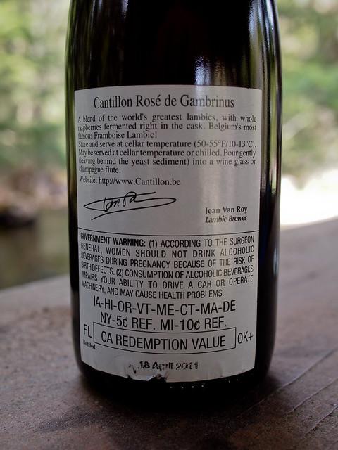 Cantillon Rosé De Gambrinus - Brasserie Cantillon