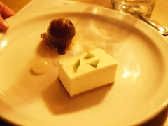 Lime and Vanilla Cheesecake