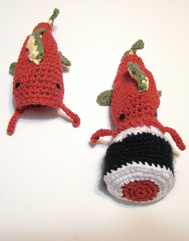 fish to sushi amigurumi