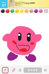 Kirby, Draw Something