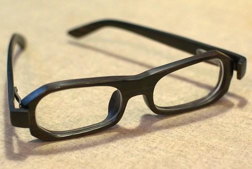 Wood Frame Glasses 2