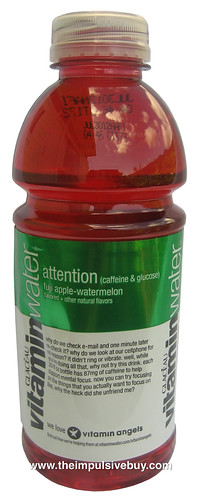 VitaminWater Attention