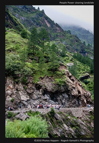 People Power clearing landslide