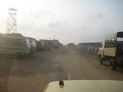 End of tar road
