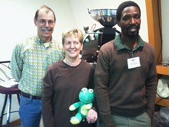 Mzukisi, Frog Q and Steve and Becky Diedrich