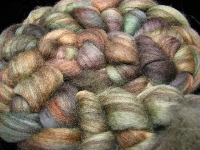 Alpine - Hand Dyed Mixed BFL Wool Roving