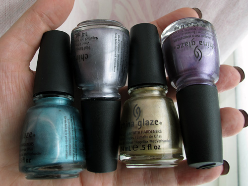 China Glaze backups