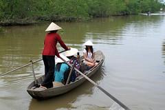 Paddling the Mekong