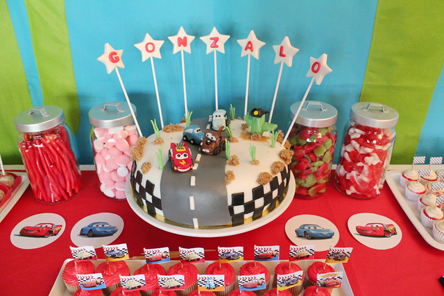 Nice Party Cars birthday