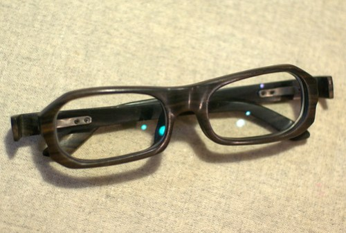 Wood Frame Glasses 1