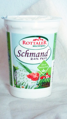 Horseradish sauce - salsa al rafano (kren)