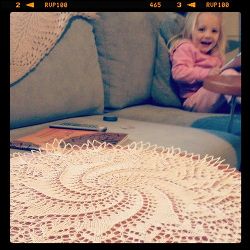 alice and doily