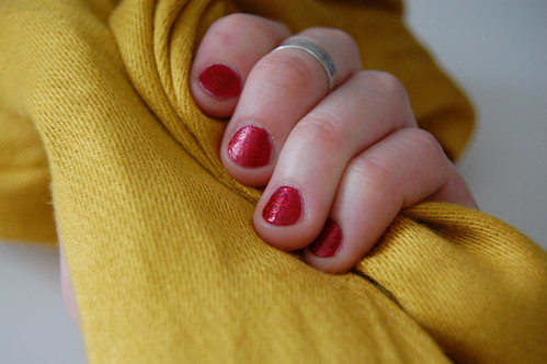 my nails feel like ruby slippers!