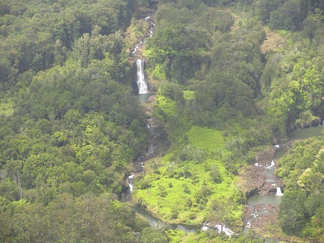Waterfalls near Hilo