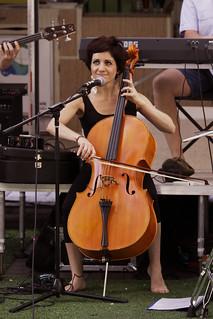 Cello in Rundle Mall