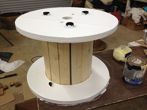 Wood Spool Table