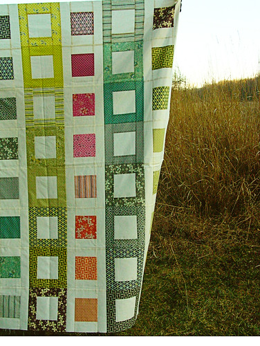 Hope Valley Filmstrip Quilt Top