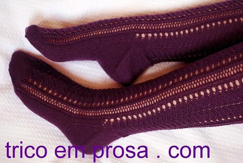 trico em prosa.com - Receita traduzida das Meias Lakeside
