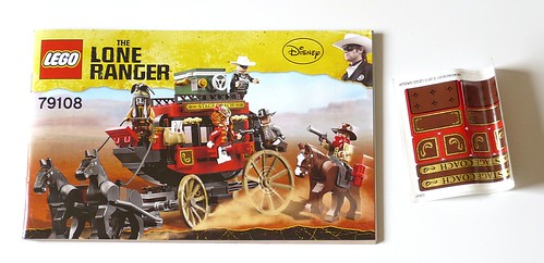 The Lone Ranger 79108 Stagecoach Escape pack01