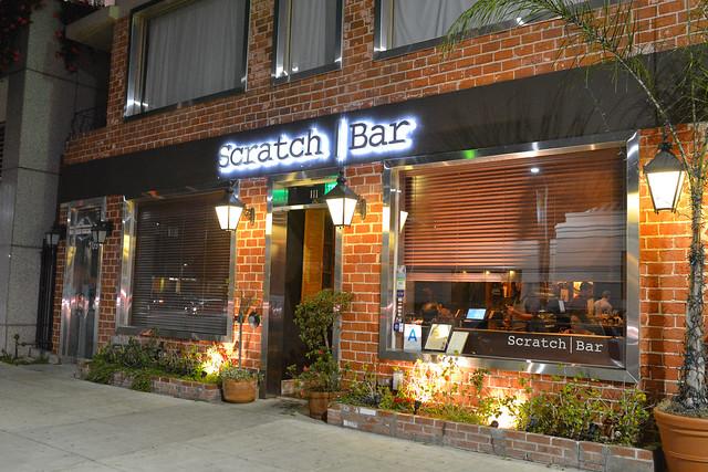 scratch bar signage