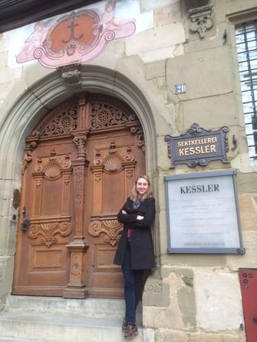 Kessler Sekt sparkling wine in Esslingen