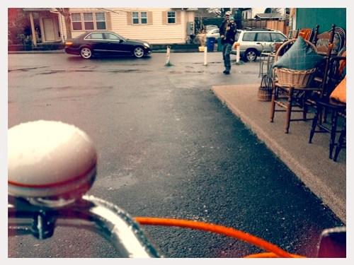 Rainy Bike Ride