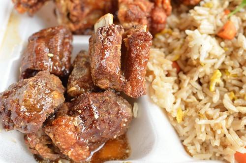 Fried Pork Ribs