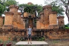 At the Cham Ruins