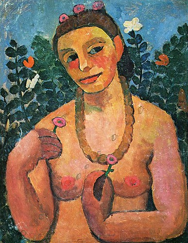 Paula Modersohn-Becker, Self-Portrait, 1906.