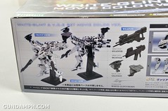 Kotobukiya White Glint & V.O.B Movie Color Version Unboxing Review (9)