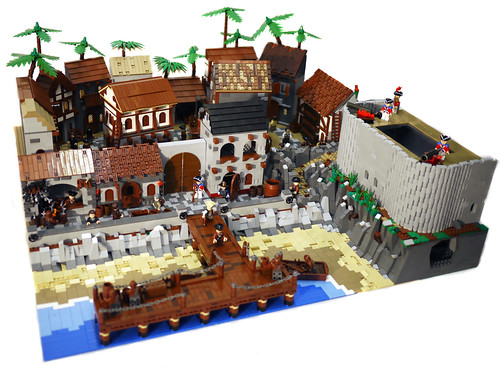 Huge Pirate Town by BrickCityDepot