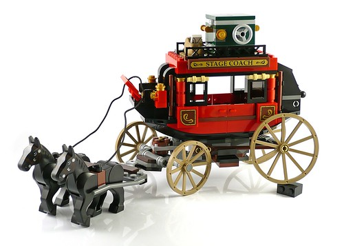 The Lone Ranger 79108 Stagecoach Escape 11