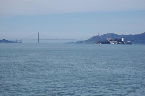 Golden Gate Bridge Alcatraz