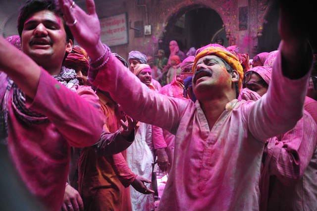 The ecstasy and beyond as Aarti happens