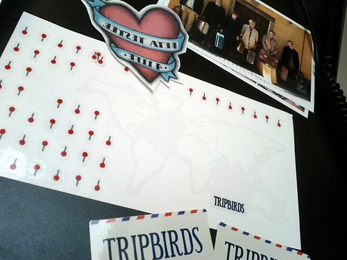 Lovely Tripbirds invite