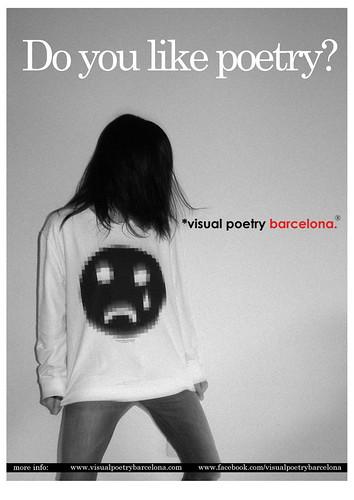 display visual poetry barcelona