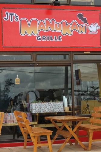 Outside JT's Manukan Grille
