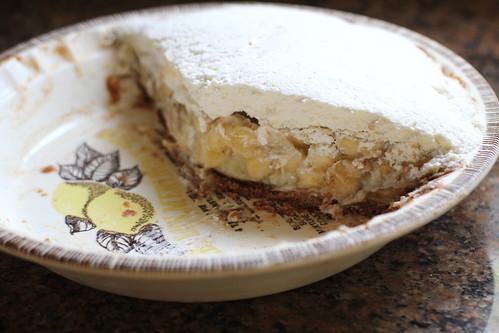 pie after destruction