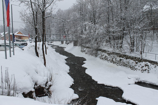 Snowy Úpa River
