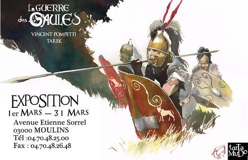 Exposition // La guerre des Gaules by Pegasus & Co