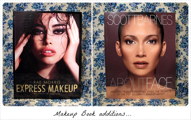 Rae Morris_Scott Barnes makeup books