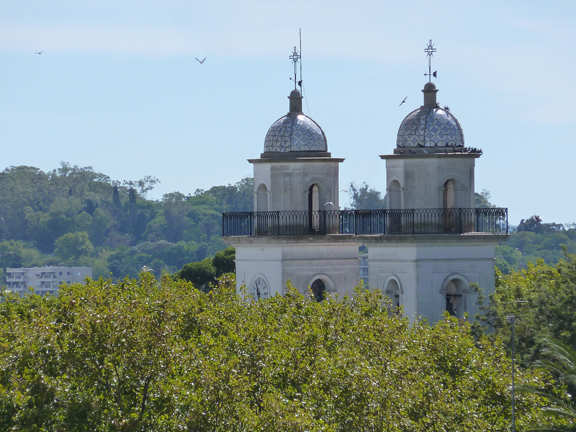 View of basilica from lighthouse