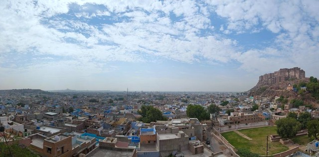 The mehrangarh fort pano