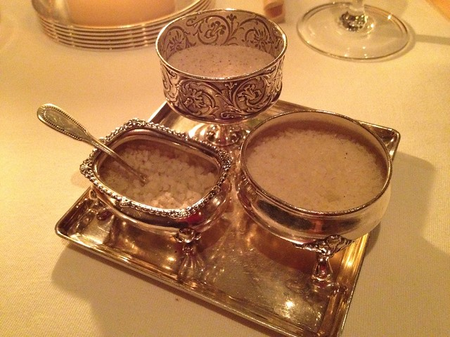 Trio of salts - The French Laundry