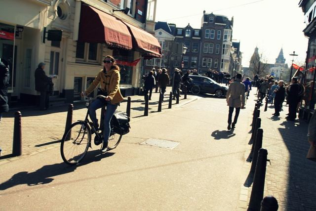 I can't get enough of you Amsterdam!